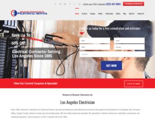 branovercontractors.com screenshot