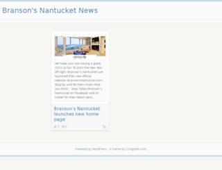 bransonsnantucket.biz screenshot