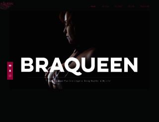 braqueen.com.au screenshot
