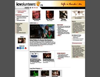 brasil.icvolunteers.org screenshot