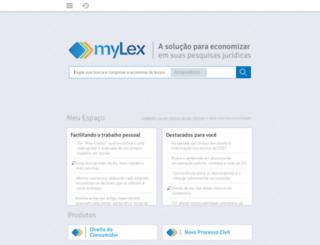 brasil.mylex.net screenshot