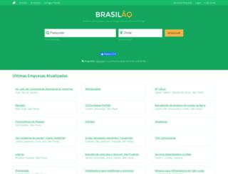 brasilao.com screenshot
