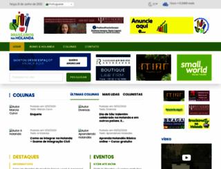 brasileirosnaholanda.com screenshot