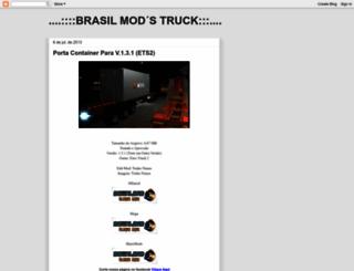 brasilmodstruck.blogspot.com.br screenshot