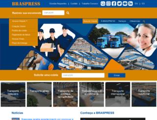 braspress.com.br screenshot
