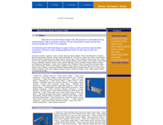 brass-fastener-india.com screenshot