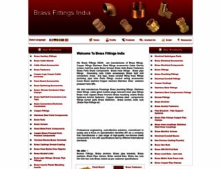 brassfittingsindia.com screenshot
