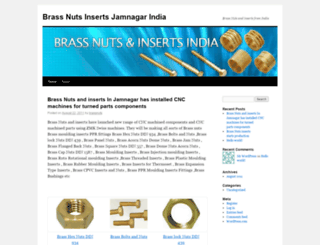brassnutsinserts.wordpress.com screenshot