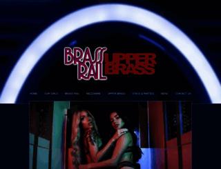 brassrailtavern.com screenshot