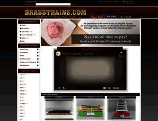brasstrains.com screenshot