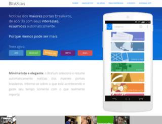 brasum.com.br screenshot