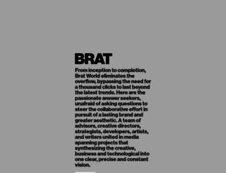 brat.world screenshot