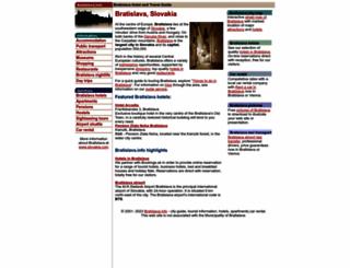 bratislava.info screenshot