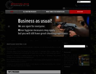 bratislavashootingclub.com screenshot