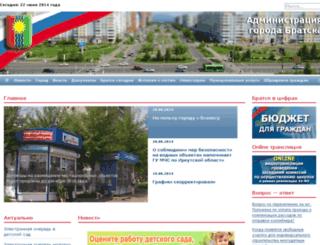 bratska.ru screenshot