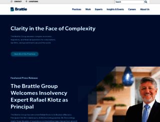 brattle.com screenshot