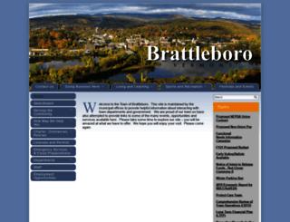 brattleborovt.govoffice.com screenshot