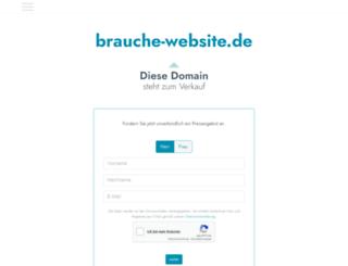 brauche-website.de screenshot