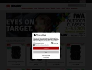 braun-phototechnik.de screenshot