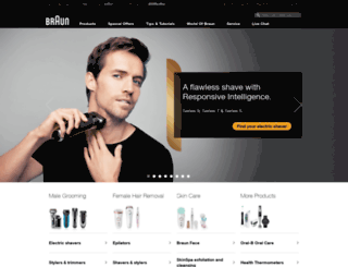 braun.braun.com screenshot