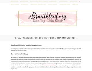 brautkleid.org screenshot
