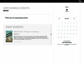 brava.ticketleap.com screenshot