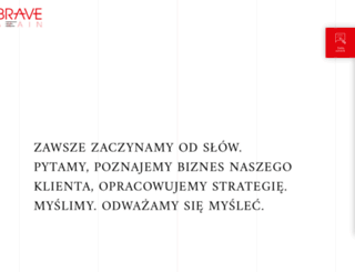 bravebrain.pl screenshot