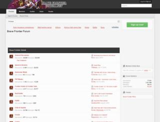 bravefrontierforum.net screenshot