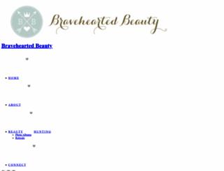 braveheartedbeauty.com screenshot