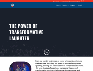 bravenewworkshop.com screenshot