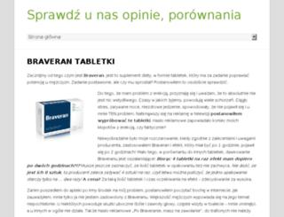 braverantabletki.pl screenshot