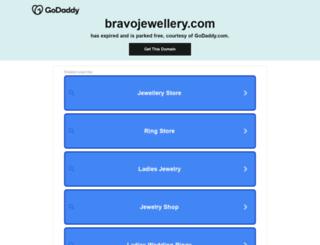 bravojewellery.com screenshot
