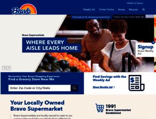 bravosupermarkets.com screenshot