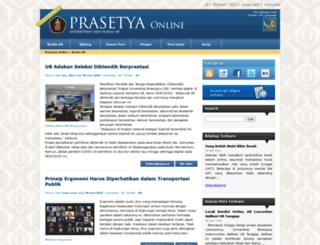 brawijaya.ac.id screenshot