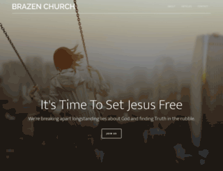 brazenchurch.com screenshot