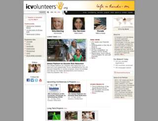 brazil.icvolunteers.org screenshot