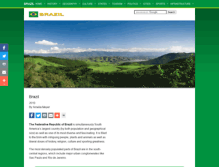 brazil.org.za screenshot