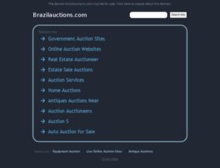 brazilauctions.com screenshot