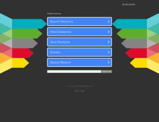 brazilbeautyspace.com screenshot