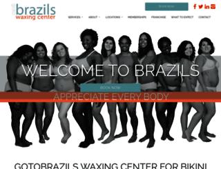 brazilswaxingcenter.com screenshot