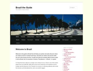 braziltheguide.com screenshot