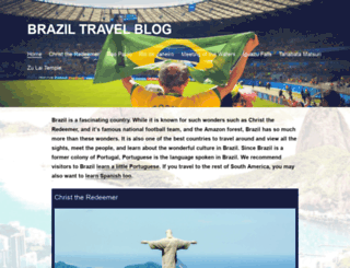 braziltravelblog.com screenshot