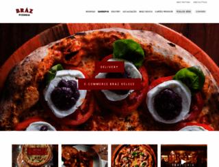 brazpizzaria.com.br screenshot