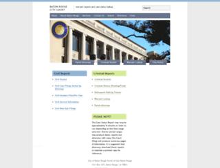 brcc.brgov.com screenshot
