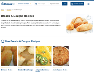 bread.betterrecipes.com screenshot