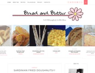 breadandbutteren.blogspot.co.uk screenshot