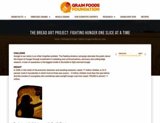 breadartproject.com screenshot