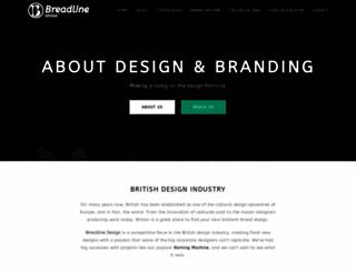 breadlinedesign.com screenshot