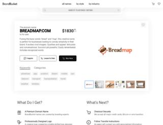 breadmap.com screenshot