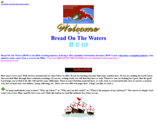 breadonthewaters.com screenshot
